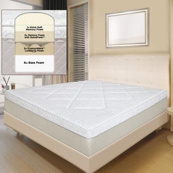 Bella Luna™ 30 5 cm 12 in King Memory Foam Mattress