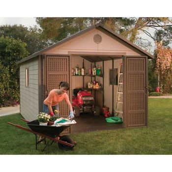 Lifetime 11 Ft X 11 Ft Outdoor Storage Shed Costco