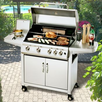 grill chef 78 000 btu propane gas bbq costco ottawa. Black Bedroom Furniture Sets. Home Design Ideas