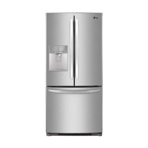 lg 19 7 cu ft french door refrigerator lfd20786st stainless steel future shop ottawa