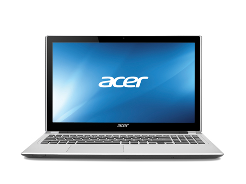 "Acer Aspire V-Series 15.6"" Touchscreen Laptop - Silver (Intel Core i3"