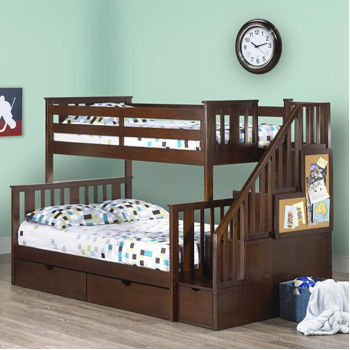 Nolin staircase bunk bed costco ottawa for Ashley meuble canada