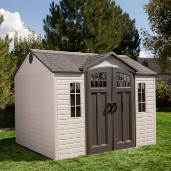 Lifetime 10 Ft X 8 Ft Outdoor Storage Shed Costco Ottawa