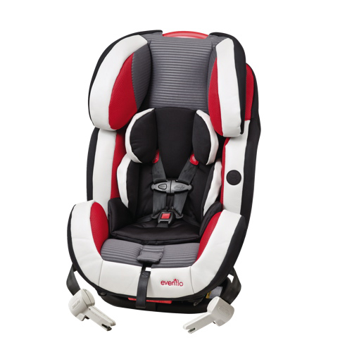 evenflo symphony dlx all in one car seat 34621038c black grey white red best buy. Black Bedroom Furniture Sets. Home Design Ideas