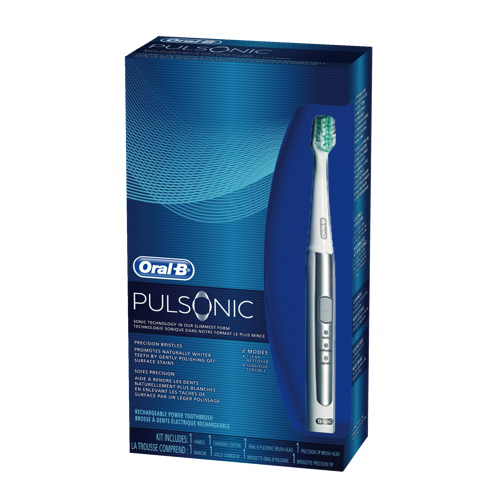 B toothbrush electric oral pulsonic