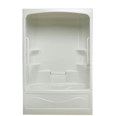 Mirolin Parker 20 Acrylic 60 Inch 3 Piece Tub And Shower