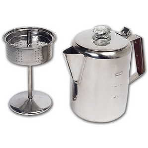 how to make coffee camping percolator