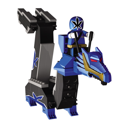 Mega Bloks Power Rangers: Samurai Blue Dragon Folding Zord ...