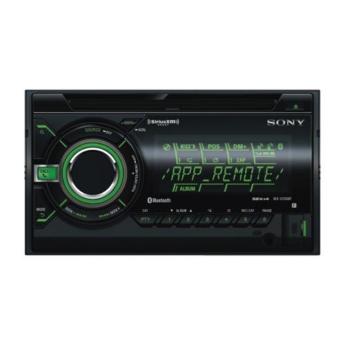 Product Electronics CarElectronics In Dash Sony Bluetooth USB CD Car Deck with Smartphone Control WXGTBT idDbcf d f bb cbffac