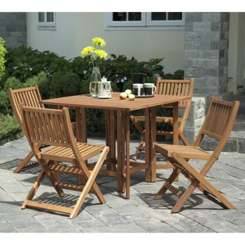 Essex 5 Piece Folding Dining Set Costco Ottawa