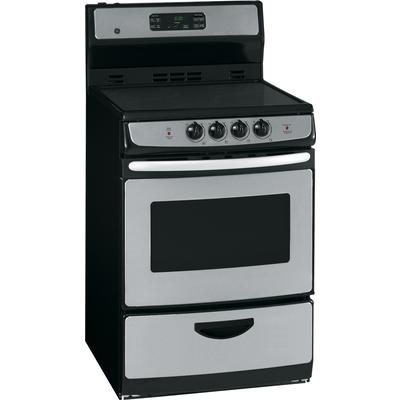 Ge Stainless Steel 24 Inch Free Standing Electric Self