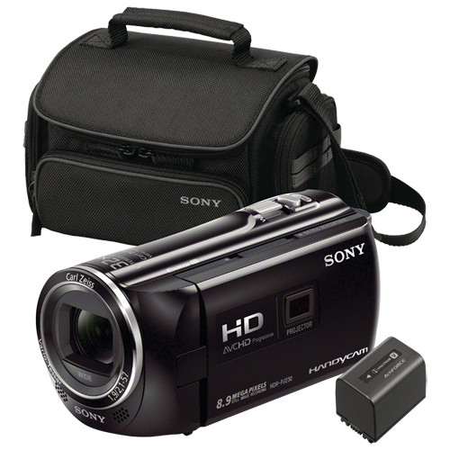 Sony Handycam Hdr Pj230 Projector Hd Camcorder With Bag