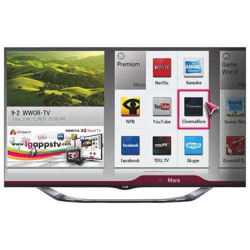 lg 60 1080p 240hz 3d led smart tv 60la8600 best buy. Black Bedroom Furniture Sets. Home Design Ideas