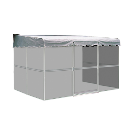 patio mate 7 39 8 39 39 x 11 39 6 39 39 screened enclosure white